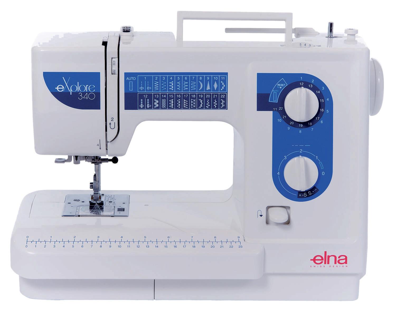 Máquina de costura Elna 340 Explore