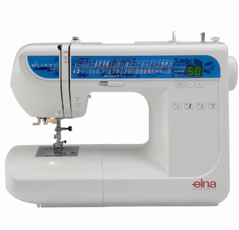 Máquina de Costura Elna 540 Experience