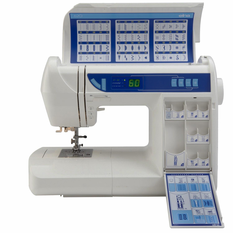 Máquina de Costura Elna 620 Experience