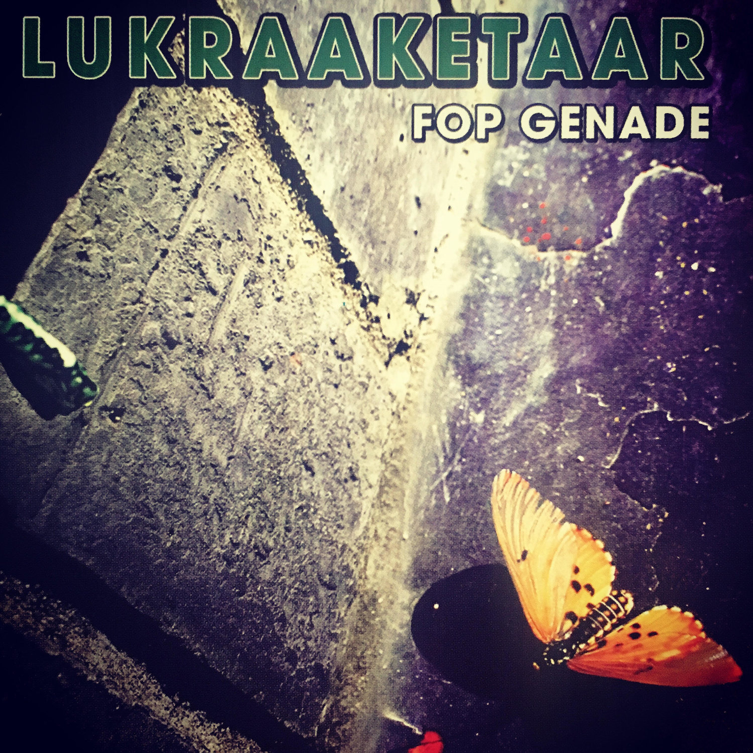Signed LUKRAAKETAAR Fop Genade Acoustic EP CD | + 2 NEW digital singles!