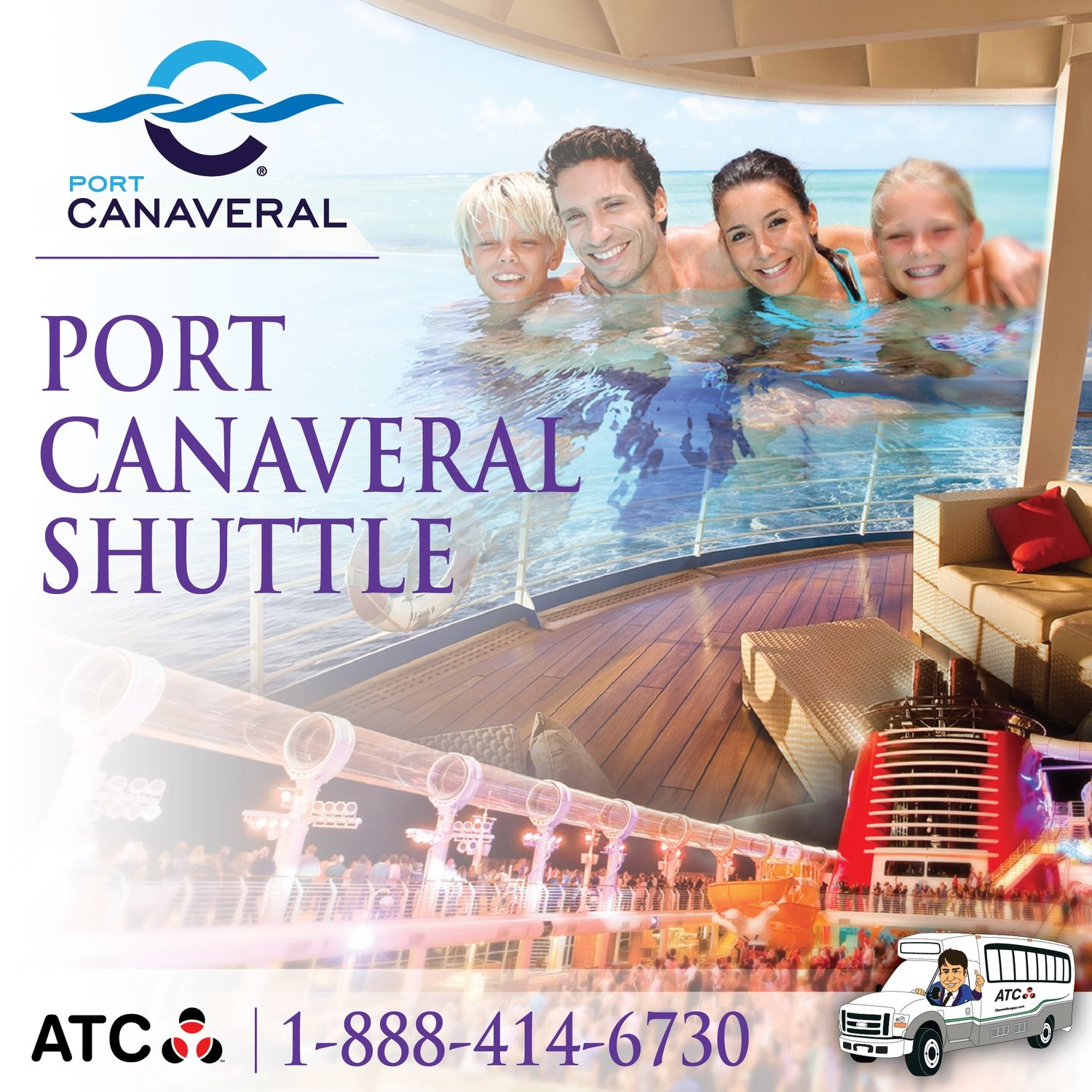 Orlando Airport Hotels to Port Canaveral ONE WAY