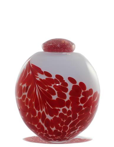 Urn Glas - Red Leaves