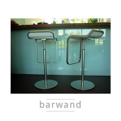 Barwand van Glas