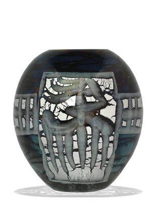 Urn Glas - Aztek Black