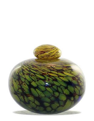 Urn Glas - Yellow Pinecone