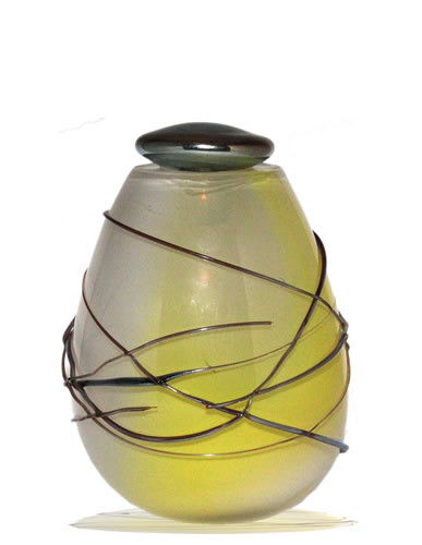 Urn Glas - Wrapped In Yellow