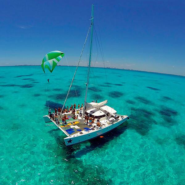 Isla Mujeres Catamaran Tour