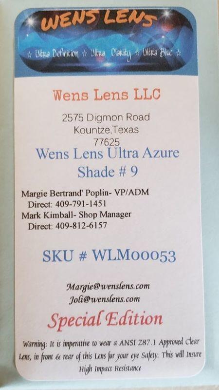 Wens Lens Ultra Azure Shade #9