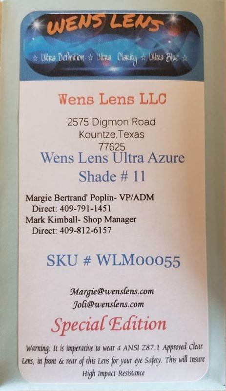 Wens Lens Ultra Azure Shade #11