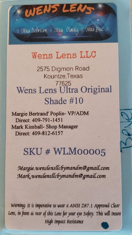 Wens Lens Ultra Original Shade #10