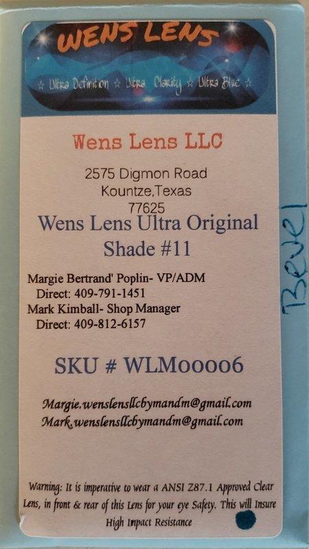 Wens Lens Ultra Original Shade #11