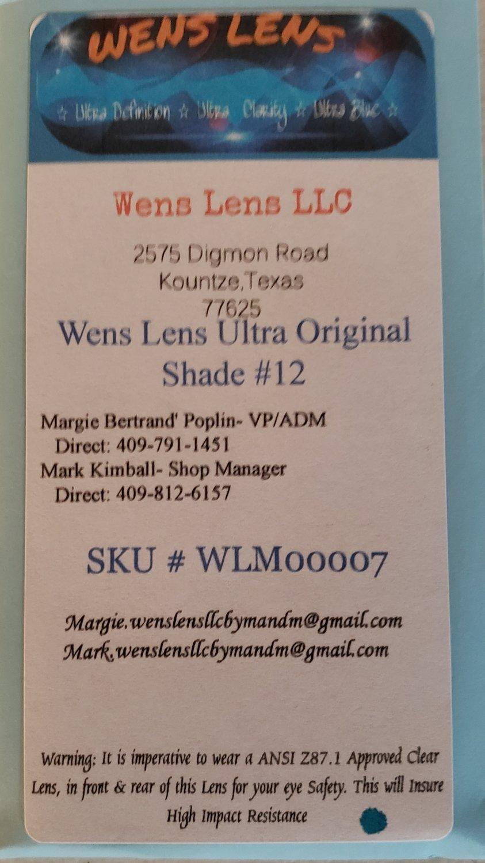 Wens Lens Ultra Original Shade #12