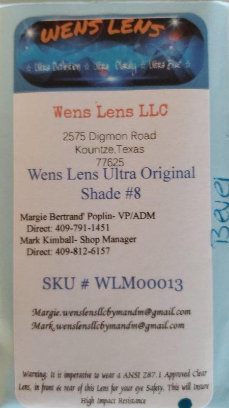 Wens Lens Ultra Original Shade #8