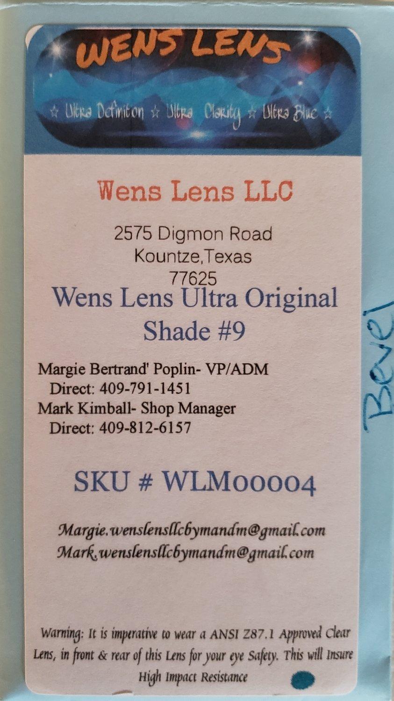 Wens Lens Ultra Original Shade #9