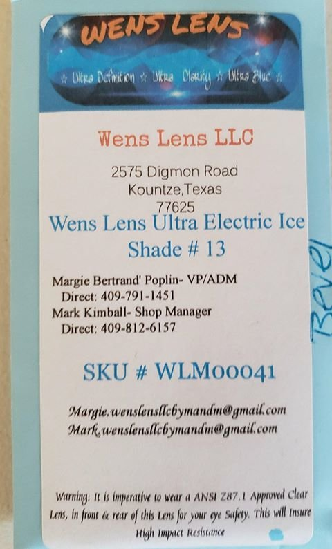 Wens Lens Ultra Electric Ice Shade #13