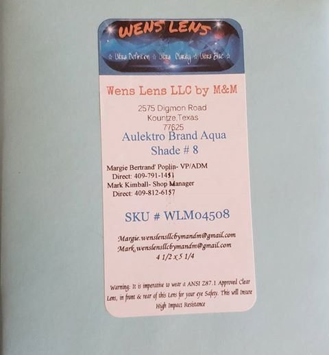 Aulektro Aqua Shade #8 (4 1/2 x 5 1/4)