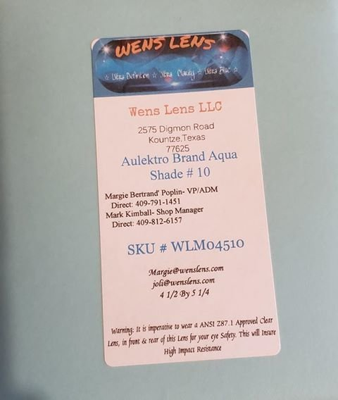 Aulektro Aqua Shade #10 (4 1/2 x 5 1/4)