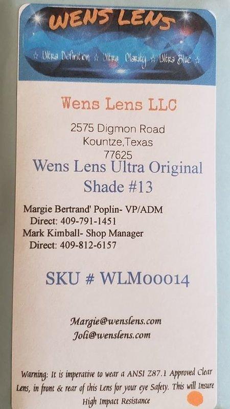 Wens Lens Ultra Original Shade #13