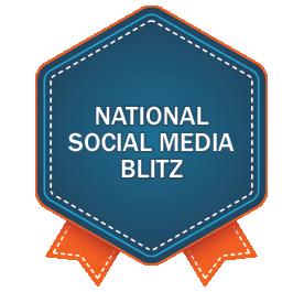 Social Media Blitz - National
