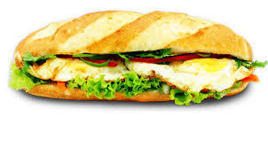 10. Sunny Side-Up 2 Egg Sandwich (Banh Mi Op La)