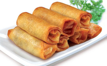 40.  Pork Egg Roll (Each)
