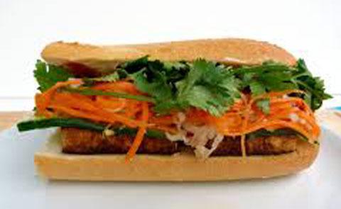 08. Veggie Tofu Sandwich