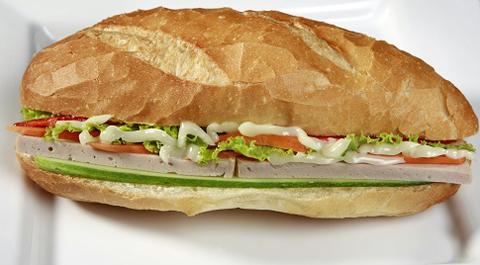 03.  Pate Pork Meat Loaf Sandwich
