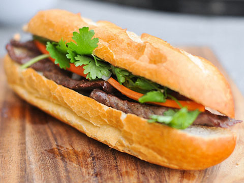 07. Grilled Beef Sandwich
