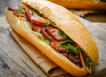 05.  B.B.Q. Xa Xiu Pork Sandwich
