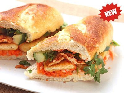 09. Shirmp Paste Wrapped in Tofu Curd Skin Sandwich (Banh Mi Tau Hu Ki)​