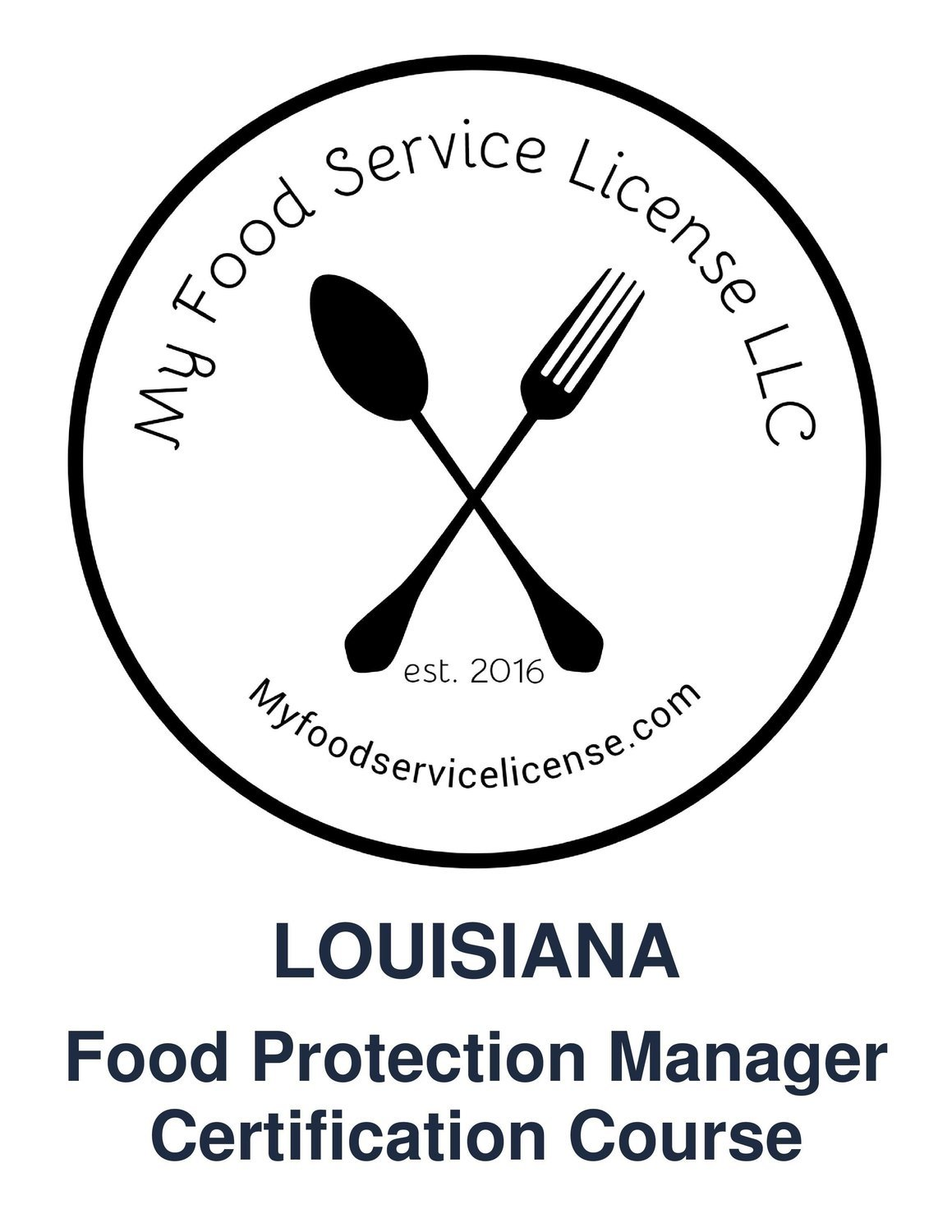 Louisiana Online Food Protection Manager Certification Course