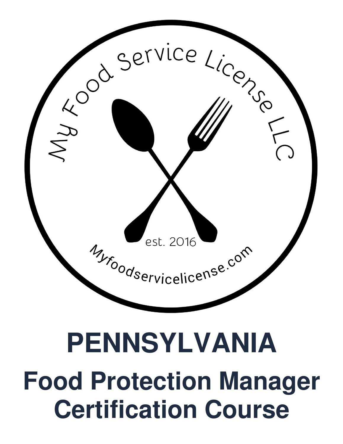 Pennsylvania Online Food Protection Manager Certification Course