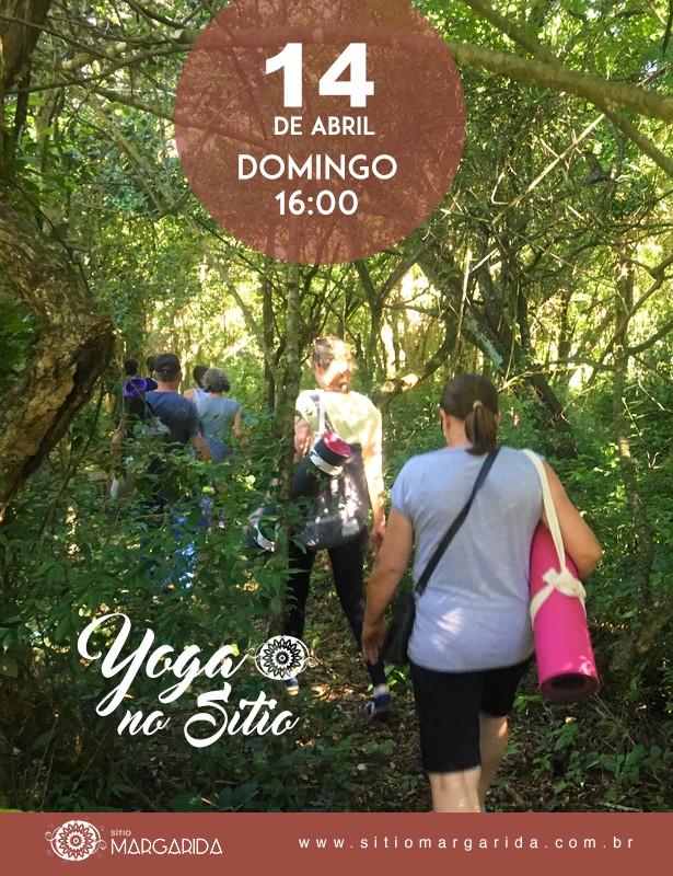 Yoga No Sitio - 14 de Abril