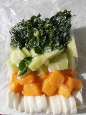 Kit de legumes para Sopa
