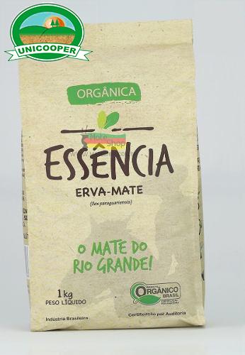 Erva-mate orgânica- Essência