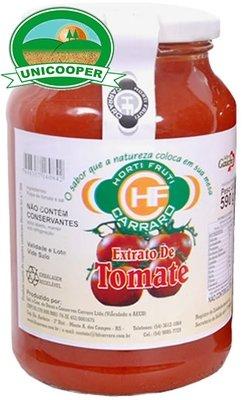 Extrato de Tomate Orgânico - 590gr
