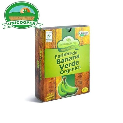Farinha de Banana Verde Orgânica - 250gr