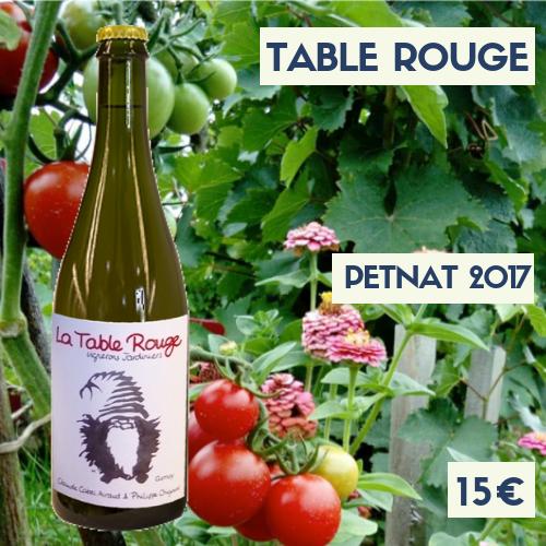6 bouteilles Table Rouge PetNat, comprendre pétillant naturel blanc 2018 (15€)
