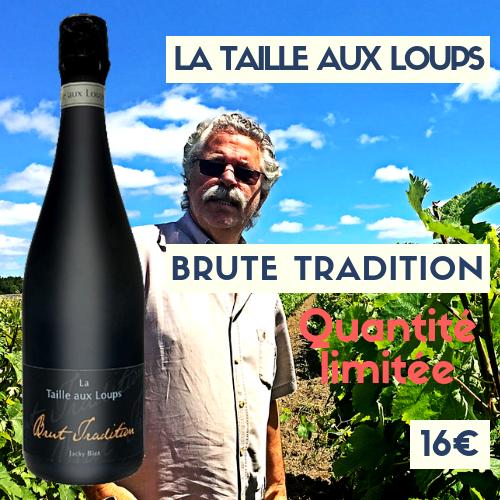 6 bouteilles Domaine de la Taille aux Loups Montlouis Brut Tradition (bulles)