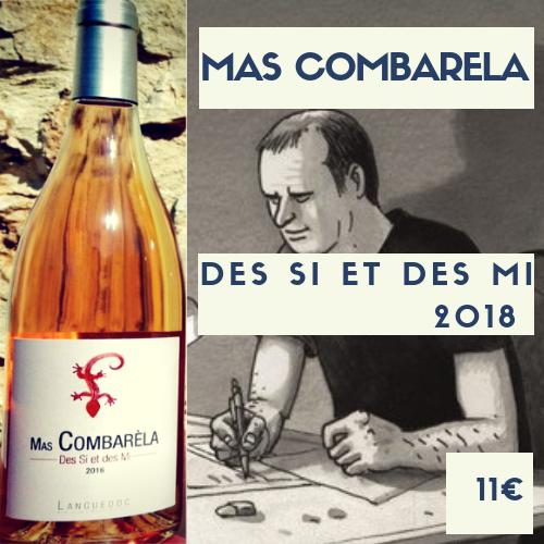 6 bouteilles rosé de Mas Combarèla - des SI et des MI 2018 (11€)