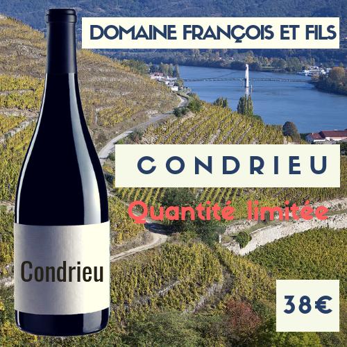 6 bouteilles de Condrieu 2018 domaine Francois et Fils (38€)