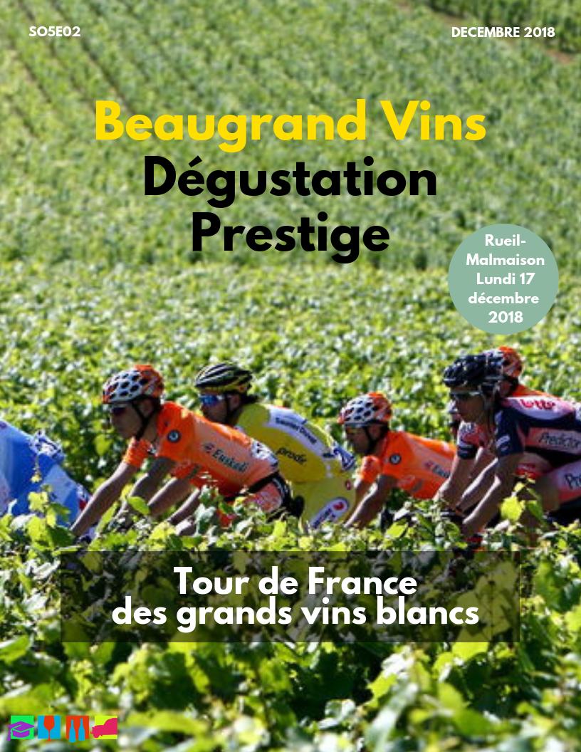 Tour de France des meilleurs vins blancs (17 décembre 2018)