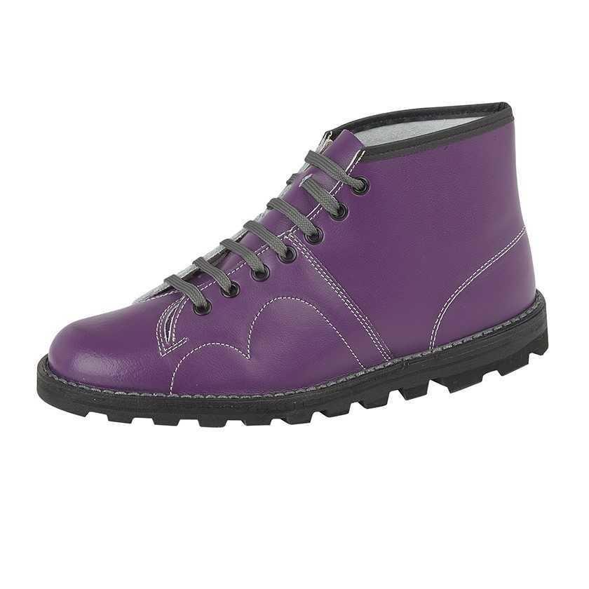 c0ee0008988 Grafters Monkey Boot Purple B430P