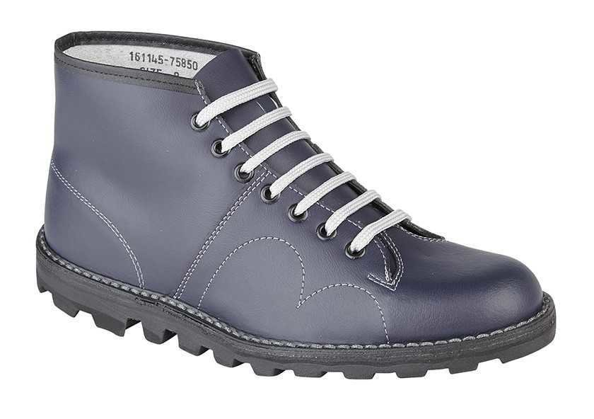 d66e95a8eb0 Grafters Monkey Boot Navy B430C