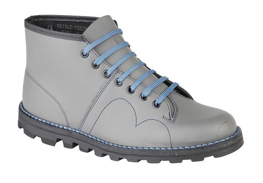 cbd1b4064fc Grafters Monkey Boot Grey B430F