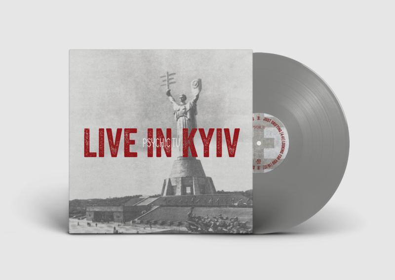 PSYCHIC TV - Live In Kyiv (grey vinyl)