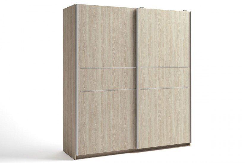 Armario 2 puertas en Roble, Medida: Ancho 182x Fondo 54cm x Alto 2,01.