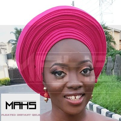 MAHS Instant Pleated Gele (Available on Pre Order)