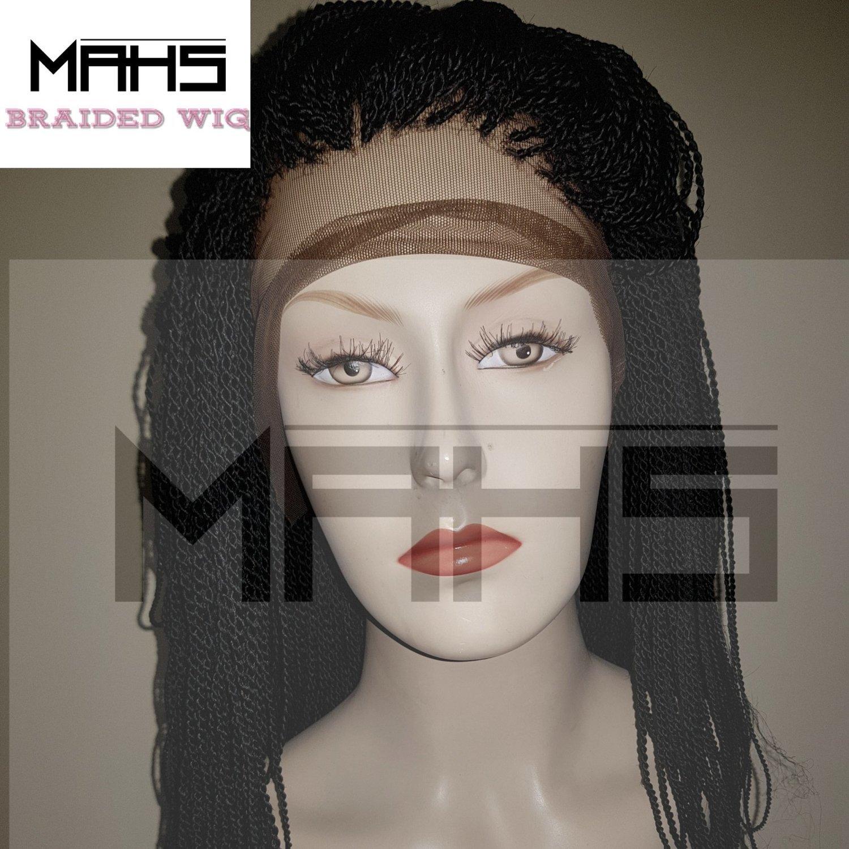 MAHS 360 Braided Lace Wig in Twists (Abi)