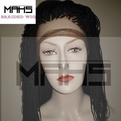 MAHS 360 Braided Lace Wig in Twists (Abi)